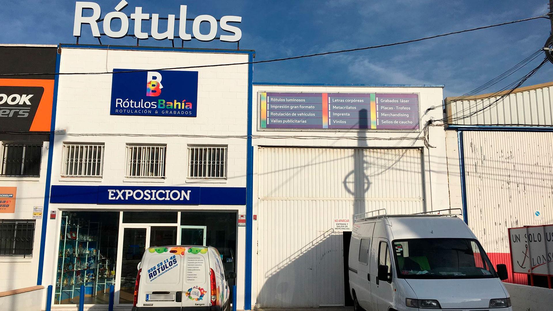 Rótulos Bahía: Rotulos y grabados en San Fernando (Cádiz)